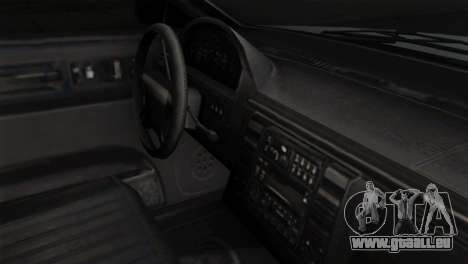 GTA 5 Vapid Stanier II SA Style pour GTA San Andreas vue de droite