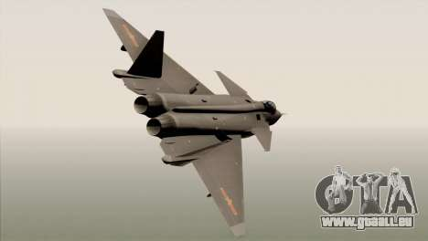 MIG 1.44 China Air Force für GTA San Andreas linke Ansicht