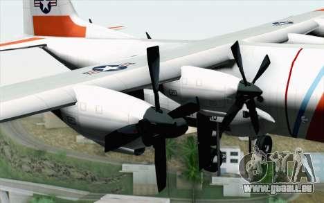 C-130H Hercules Coast Guard pour GTA San Andreas vue de droite