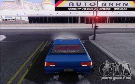 STI Sultan für GTA San Andreas zurück linke Ansicht