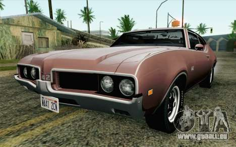 Oldsmobile 442 Holiday Coupe 1969 HQLM für GTA San Andreas