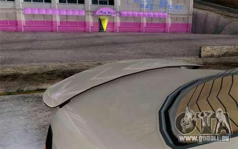 GTA 5 Ubermacht Sentinel XS IVF pour GTA San Andreas vue de droite