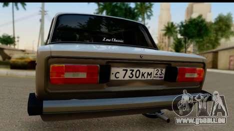 ВАЗ 2106 Basse Classique pour GTA San Andreas vue de droite