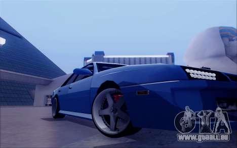 STI Sultan für GTA San Andreas Rückansicht