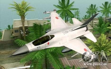 Mitsubishi F-2 Original JASDF Skin für GTA San Andreas