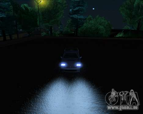 ENB Series New HD pour GTA San Andreas neuvième écran