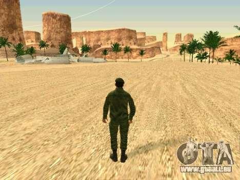 L'armée russe est une nouvelle forme d' pour GTA San Andreas dixième écran