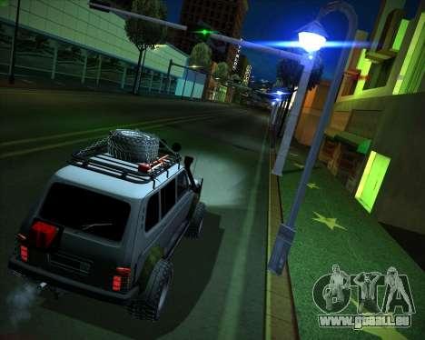 VAZ 2131 Niva 5D OffRoad pour GTA San Andreas laissé vue