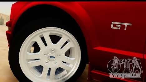 Ford Mustang GT pour GTA San Andreas vue arrière