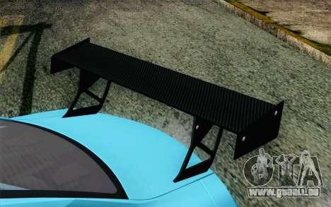 Nissan GT-R35 v1 für GTA San Andreas Rückansicht