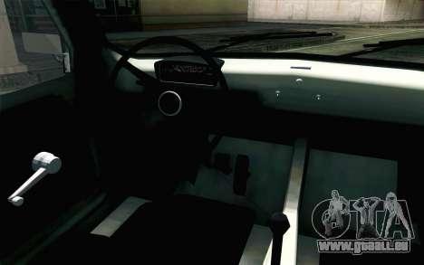 Fiat 600 pour GTA San Andreas vue de droite