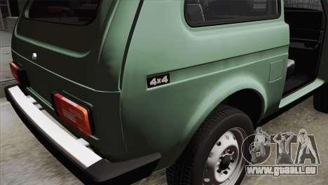 VAZ 2121 für GTA San Andreas Rückansicht