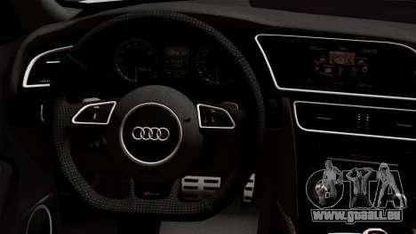 Audi RS4 Avant B8 2013 v3.0 pour GTA San Andreas vue de droite