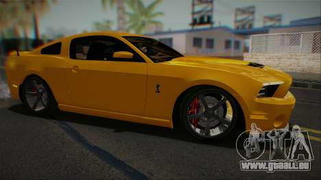 Ford Shelby GT500 2013 Vossen version für GTA San Andreas linke Ansicht
