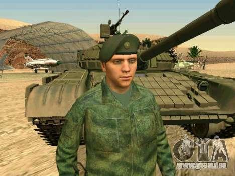 L'armée russe est une nouvelle forme d' pour GTA San Andreas neuvième écran