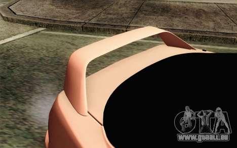 Acura Integra Type R 2001 JDM pour GTA San Andreas vue arrière