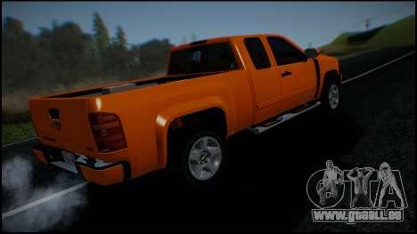 Chevrolet Silverado 1500 HD Stock pour GTA San Andreas moteur