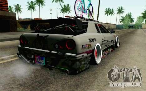 Elegy Modification pour GTA San Andreas laissé vue