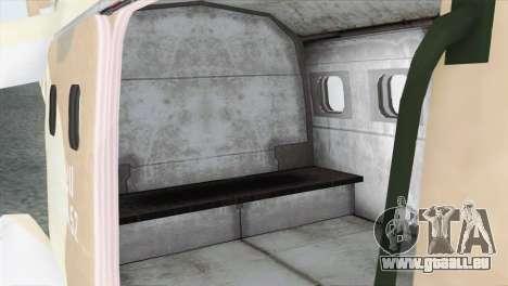 Savage GTA 5 für GTA San Andreas Rückansicht