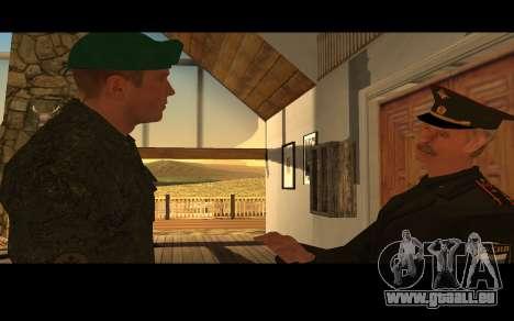 Colonel de l'armée russe pour GTA San Andreas quatrième écran