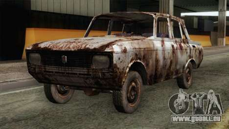 Russian Rustic Moskvitch pour GTA San Andreas
