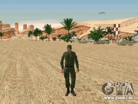 Das russische Militär ist in einer neuen form für GTA San Andreas zweiten Screenshot