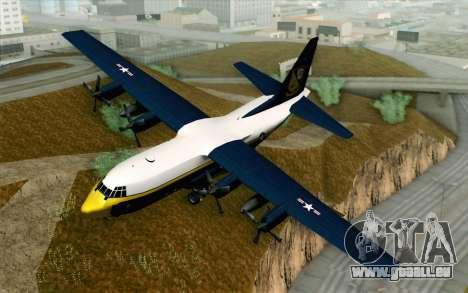 C-130H Hercules Blue Angels pour GTA San Andreas