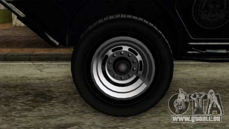 GTA 4 TBoGT Swatvan v2 für GTA San Andreas zurück linke Ansicht