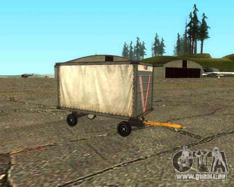 New Bagbox A für GTA San Andreas rechten Ansicht