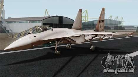 SU-37 UPEO für GTA San Andreas