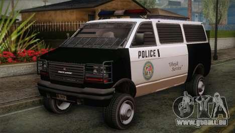 GTA 5 Police Transporter pour GTA San Andreas
