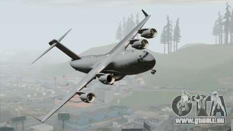 C-17A Globemaster III USAF March pour GTA San Andreas