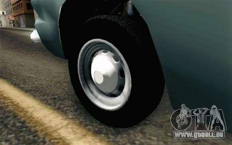Renault Torino pour GTA San Andreas sur la vue arrière gauche