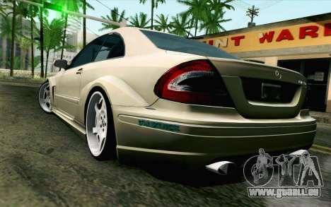Mercedes-Benz CLK DTM 2004 für GTA San Andreas linke Ansicht