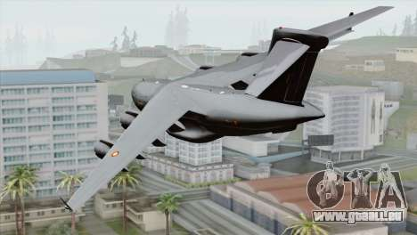 C-17A Globemaster III RAAF für GTA San Andreas linke Ansicht