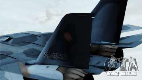 F-14 Japan Air Self Defense Force pour GTA San Andreas sur la vue arrière gauche