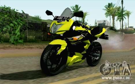 Kawasaki Ninja 250RR Mono Yellow für GTA San Andreas