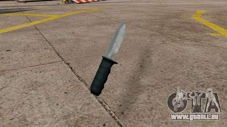Nouveau couteau pour GTA San Andreas deuxième écran
