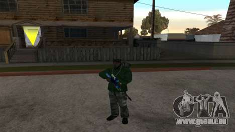 AWP DragonLore из CS:GO pour GTA San Andreas deuxième écran