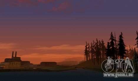 Realistic Timecyc v2.0 pour GTA San Andreas troisième écran