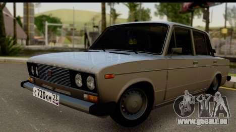 ВАЗ 2106 Low Classic für GTA San Andreas