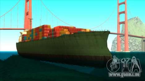 ENBSeries pour les faibles PC v5 pour GTA San Andreas huitième écran