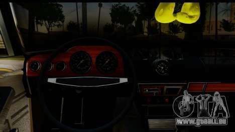 ВАЗ 2106 Basse Classique pour GTA San Andreas vue intérieure