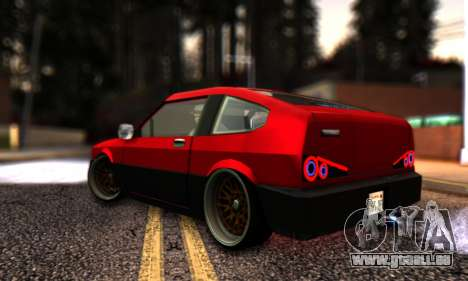 Blista Compact By VeroneProd pour GTA San Andreas laissé vue