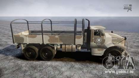 GTA 5 Barracks v2 pour GTA 4 Salon