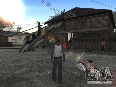 Persönliche Auto auf der Grove Street CJ für GTA San Andreas zweiten Screenshot