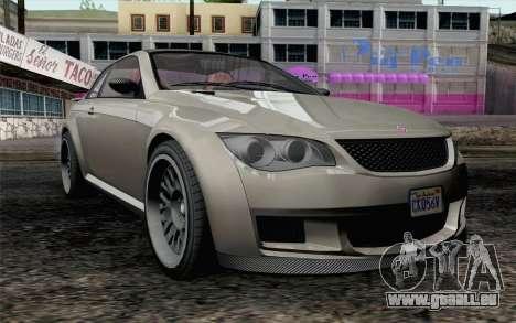 GTA 5 Ubermacht Sentinel XS IVF für GTA San Andreas