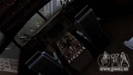 C-17A Globemaster III für GTA San Andreas Rückansicht
