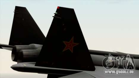 MIG 1.44 China Air Force für GTA San Andreas rechten Ansicht