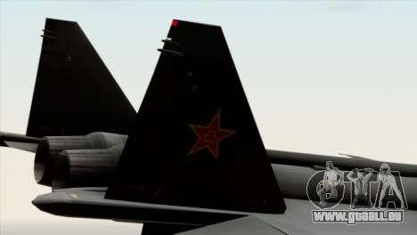 MIG 1.44 China Air Force für GTA San Andreas rechten Ansicht